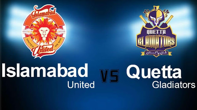 Quetta Gladiators vs Islamabad United 28th T20 Predictions and Betting Tips