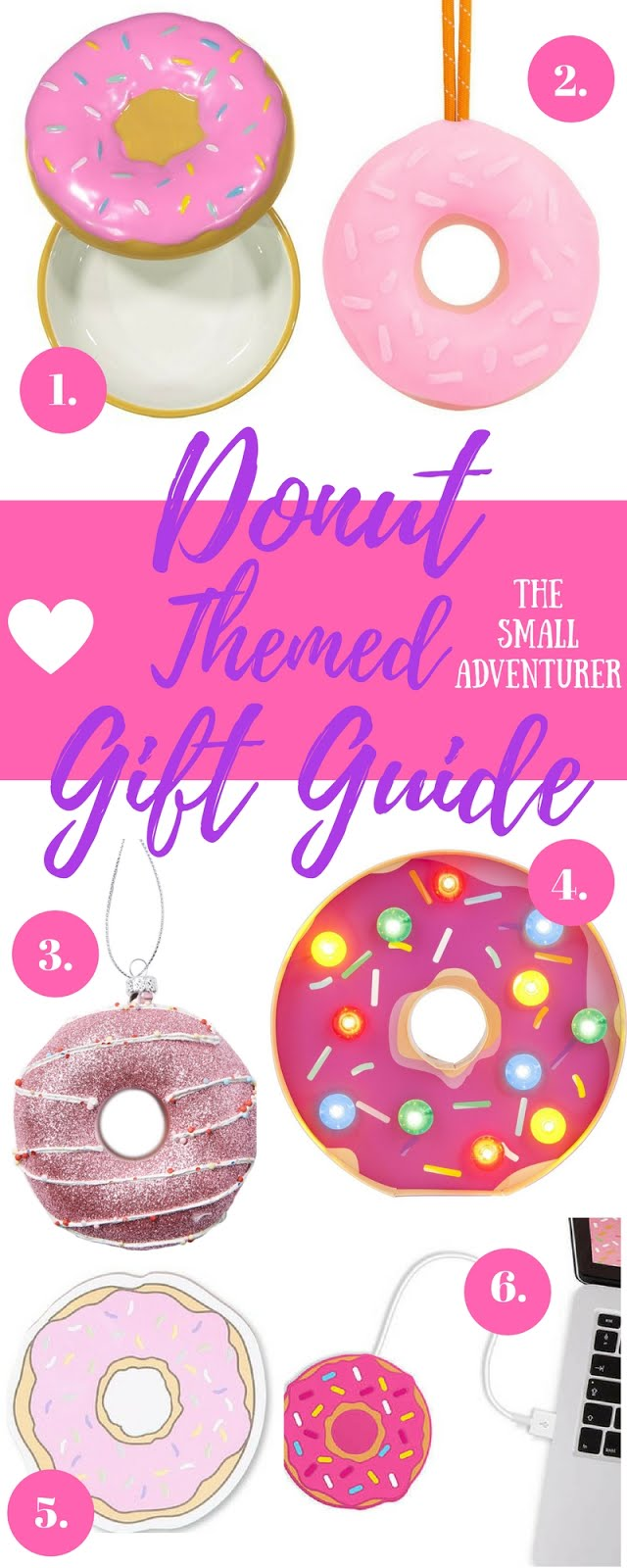 Donut Themed Christmas Gift Guide