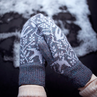 Lovely new mittens and beanie designs in Kutova Kika webshop