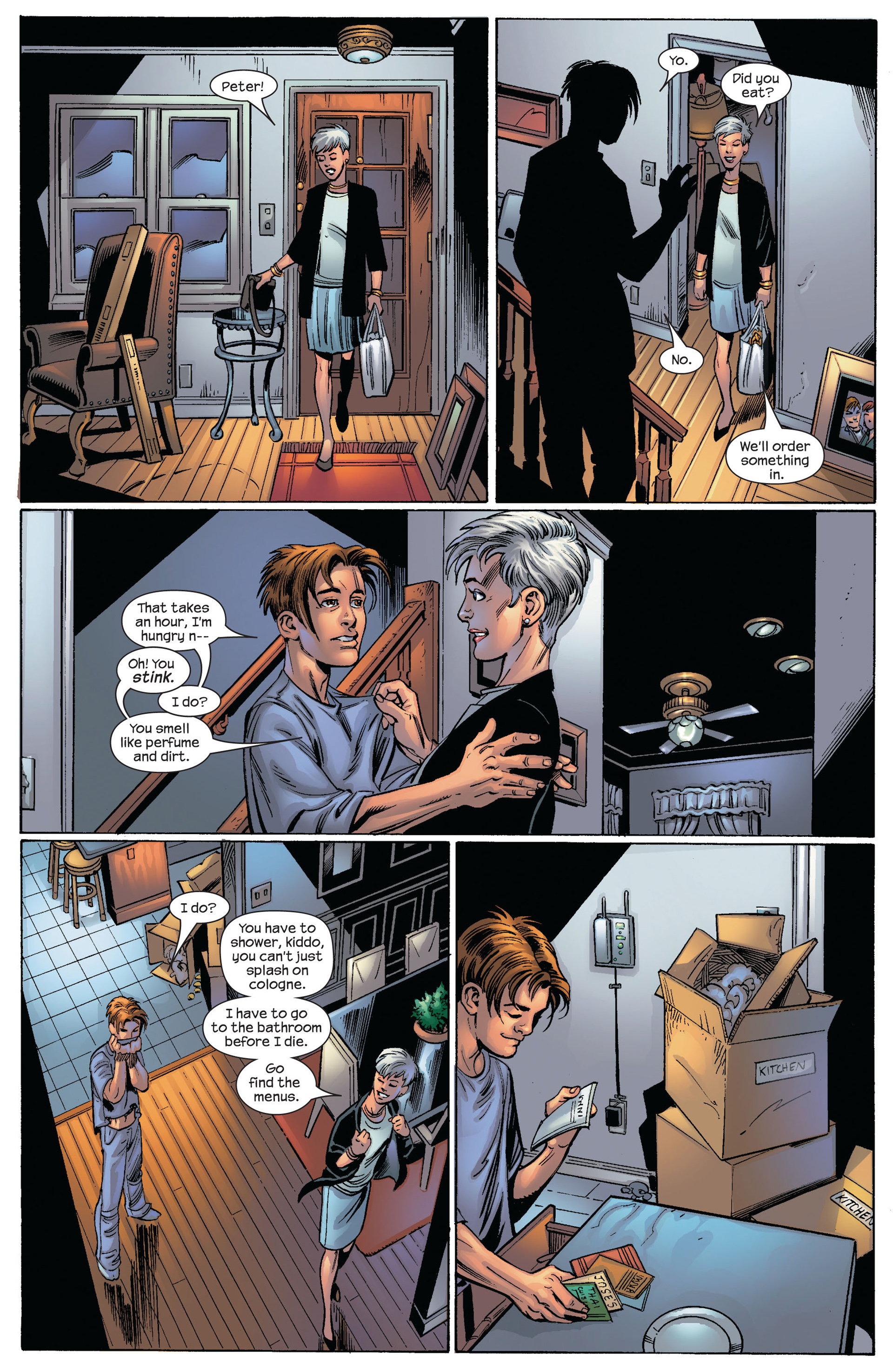 Read online Ultimate Spider-Man (2000) comic -  Issue #82 - 18