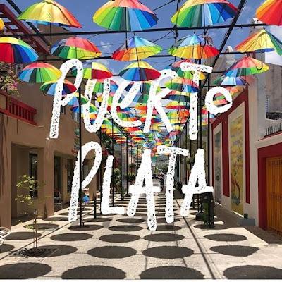 umbrella street puerto plata
