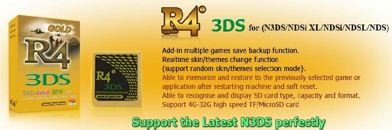 R4i-Gold 3DS card for R4i-gold com new V1 79b kernel released