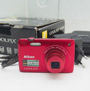 Jual Kamera Nikon Coolpix S4300 Bekas