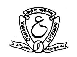 Osmania University, Declared June 2013, Degree Result - www.osmania.ac.in
