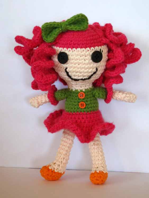 Free Lalaloopsy Inspired Crochet Doll Pattern
