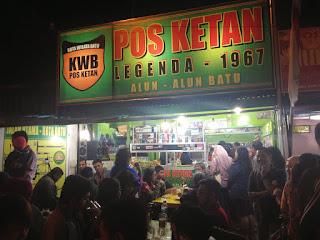 Pos Ketan Batu, Pos Ketan Legenda Malang Batu, Pos Ketan Legenda 1967 Malang Jawa Timur