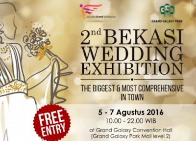 2nd Bekasi Wedding Exhibition Siap Digelar Di GGP
