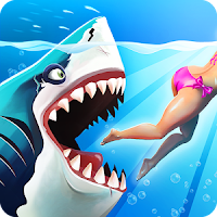 Hungry Shark World MOD APK+DATA Unlimited Money 1.3.0 (Proper) Terbaru 2016 Gratis