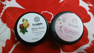 Tvakh Cinnamon Lip Plumper and Lip Tint Review