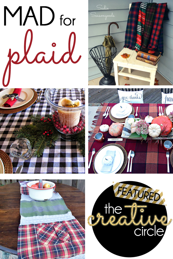 Mad for Plaid Projects