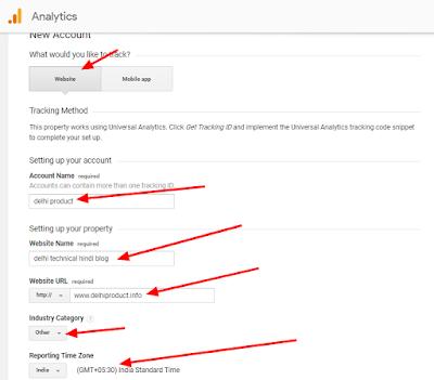 Google Analytics ko blogger me kaise set kare