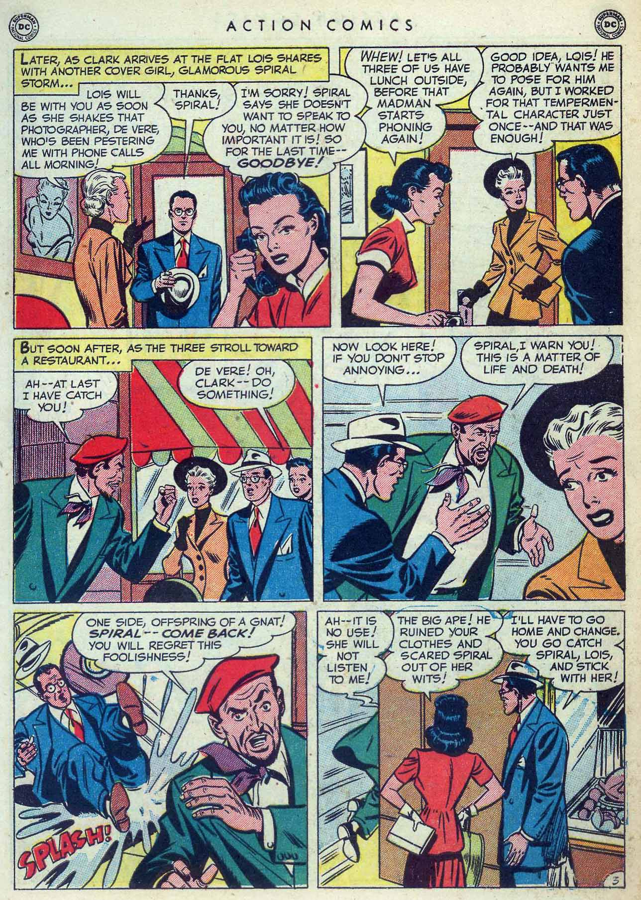 Read online Action Comics (1938) comic -  Issue #155 - 5