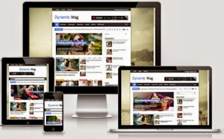 Dynamic Mag - Responsive SEO Blogger Template