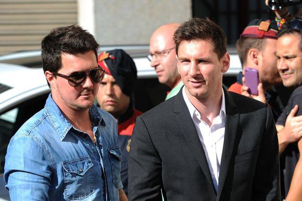 Lionel Messi and Matias Messi