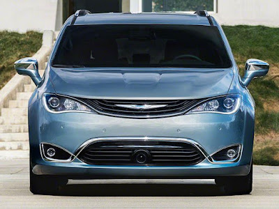 Chrysler Pacifica front look Hd pictures