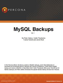 MySQL Backups Volume 1