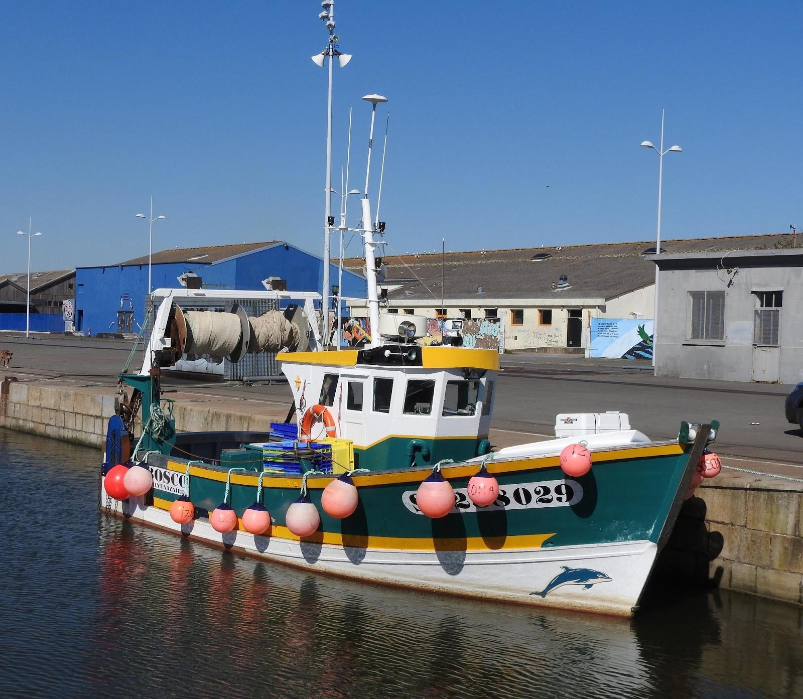 bateau de peche st nazaire