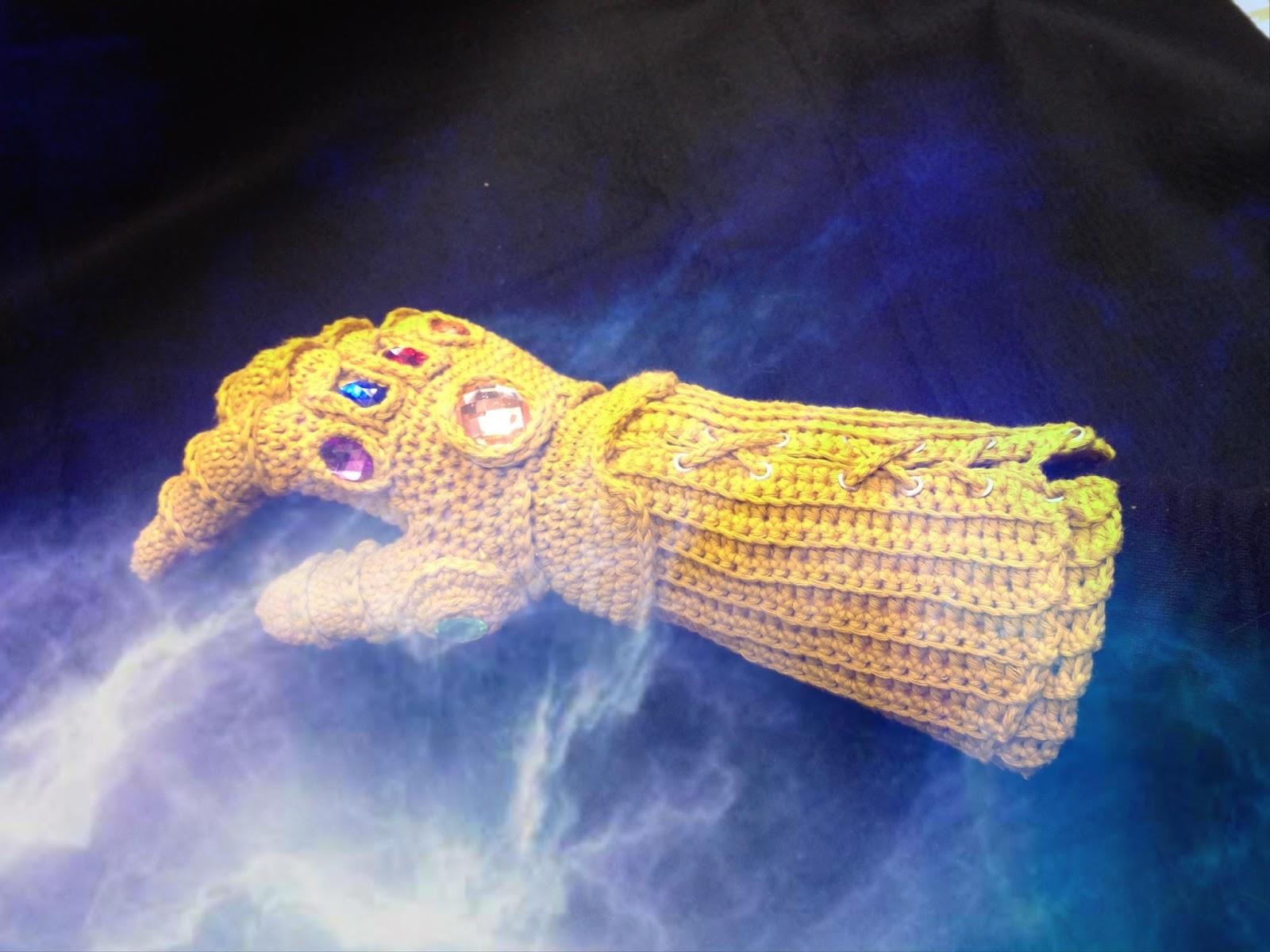 Amigurumi Barmy: Infinity Gauntlet