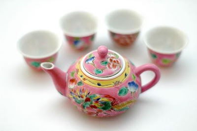Tea Set Peranakan
