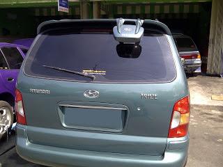 blindspot mirror pada minibus