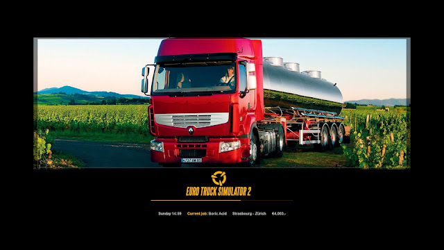 ets 2 new photo loading screens 2, renault