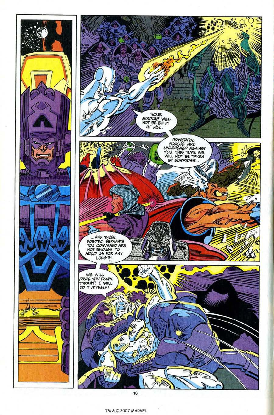 Read online Silver Surfer (1987) comic -  Issue #82 - 20