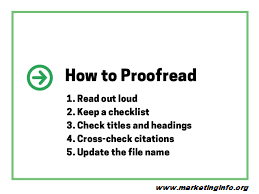 Proofread for SEO