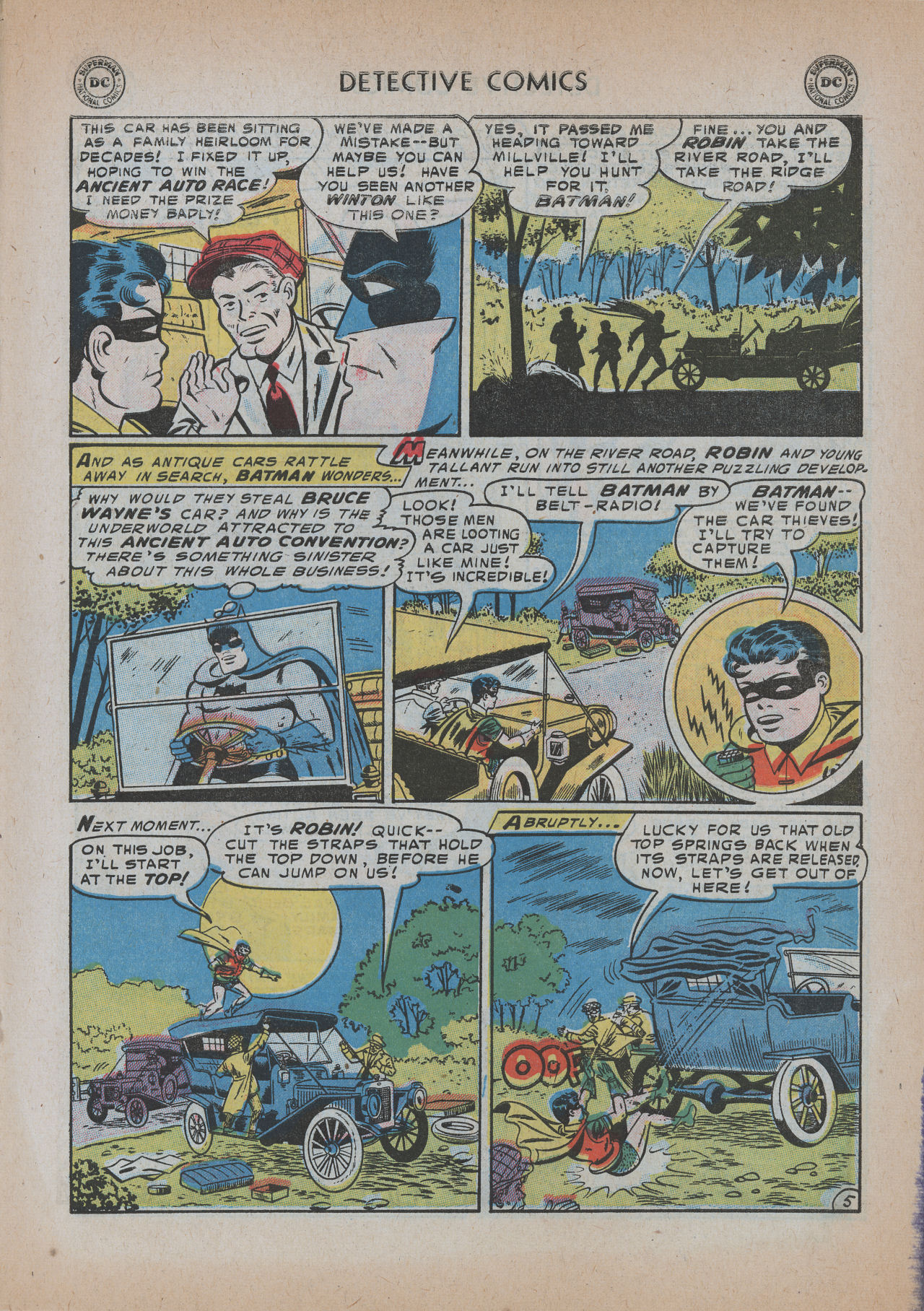 Read online Detective Comics (1937) comic -  Issue #219 - 7