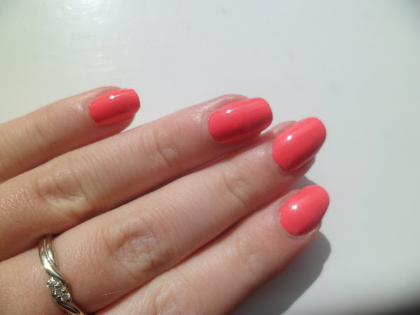 NOTD: Barry M Gelly Shine Watermelon