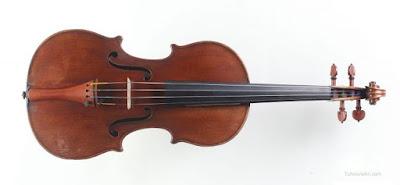Hình dáng violin ngày nay