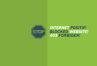 cara situs/website yang diblokir pemerintah (internet positif) dengan aplikasi anti internet positif pc