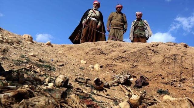 La ONU: Daesh dejó más de 200 fosas comunes en Irak