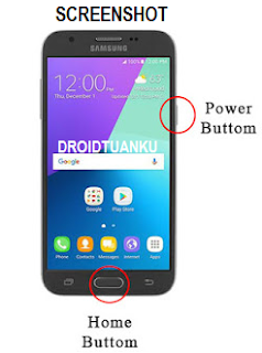 Cara Mudah Screenshot Samsung Galaxy J3