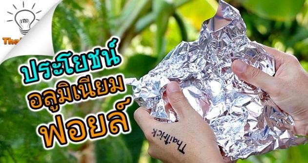 Jika Anda Sangka Aluminium Foil Hanya Untuk Membakar Ikan, Anda Silap (Video)