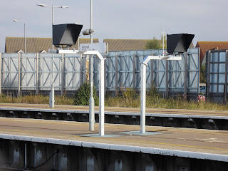 First view of signalling changes at Great Yarmouth Station
