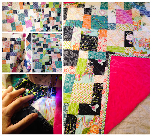 Finish It Up: A Petal and Plume Quilt