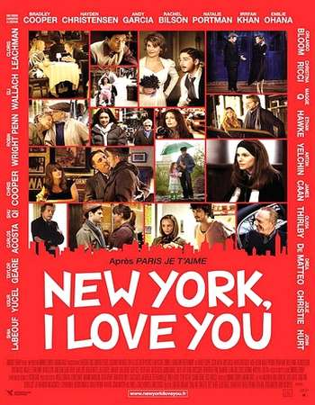 Poster Of New York, I Love You 2008 English 300MB BRRip 480p ESubs Watch Online Free Download downloadhub.net