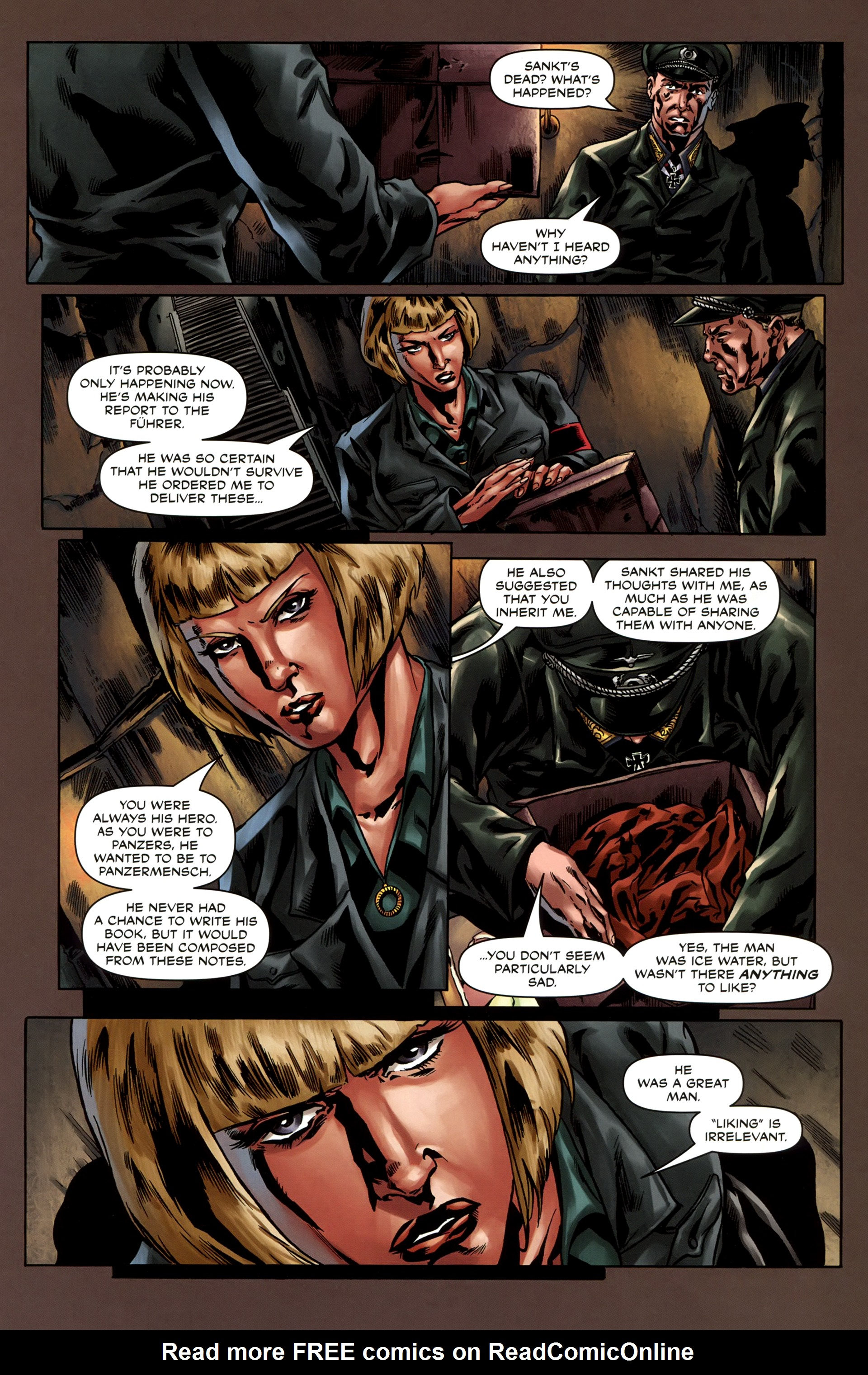 Read online Uber comic -  Issue #3 - 22