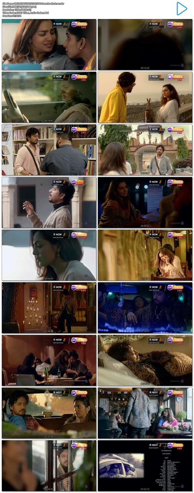 Qarib Qarib Singlle 2017 Hindi 720p HEVC DTHRip
