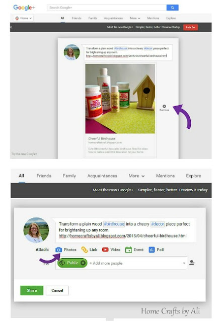 Google + Plus bloggers tips increase readers photos