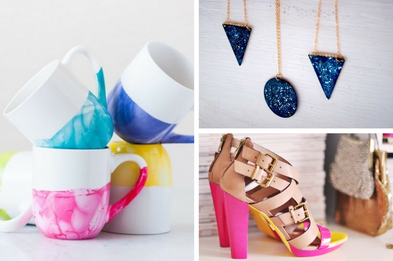 9 Hottest DIY Crafts You Can Do Using Nail Polish