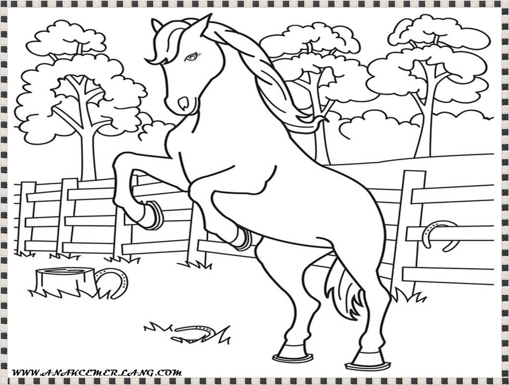 Koleksi Mewarnai Gambar Kuda Pony Auto Electrical Wiring Diagram