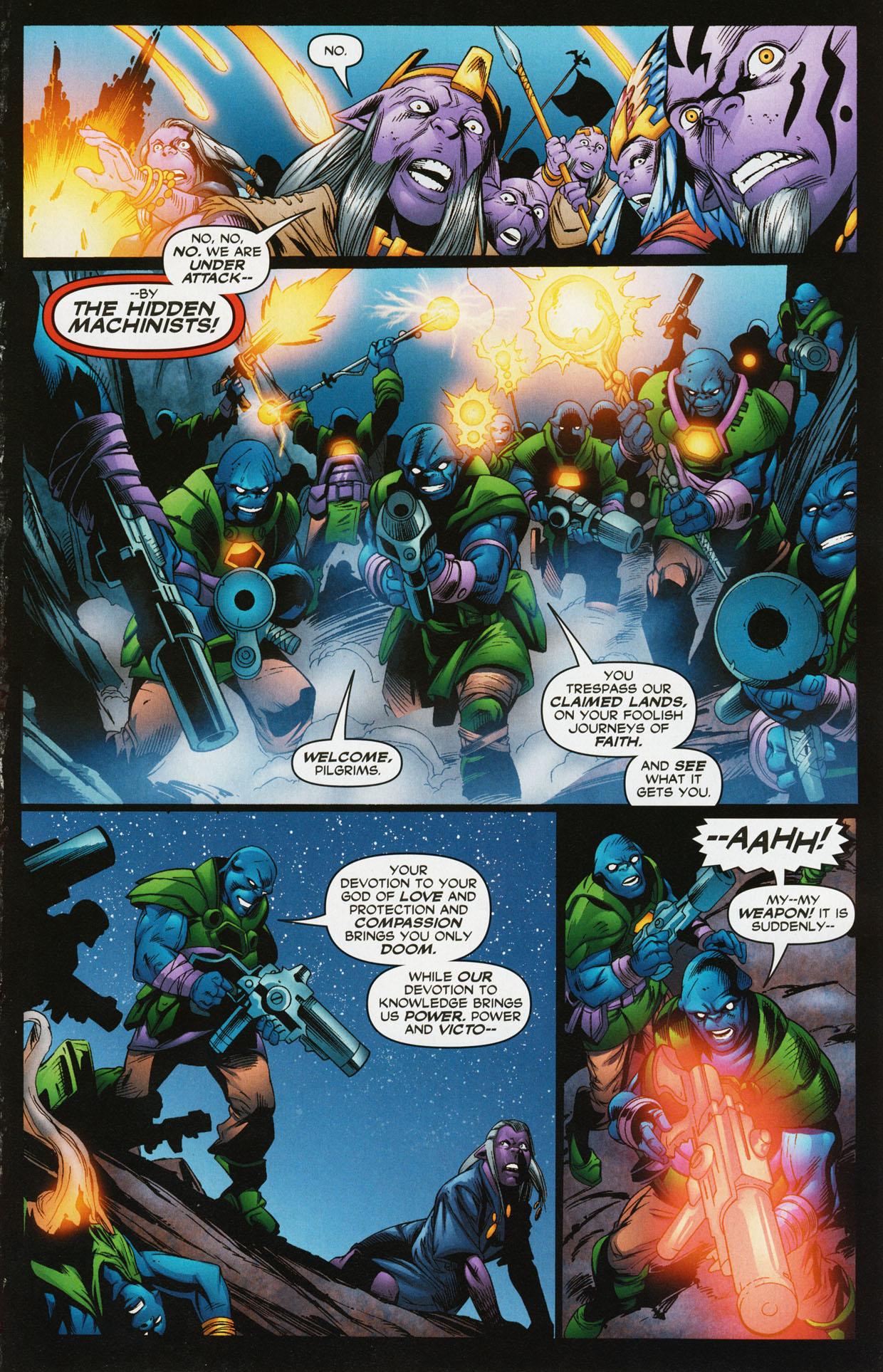 Read online Trinity (2008) comic -  Issue #34 - 16