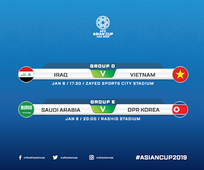 Live Streaming Saudi Arabia vs North Korea AFC 2019 8.1.2019