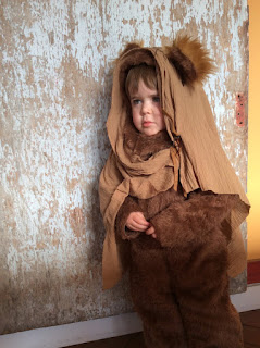 ewok kid costume