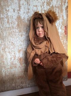 ewok kid costume
