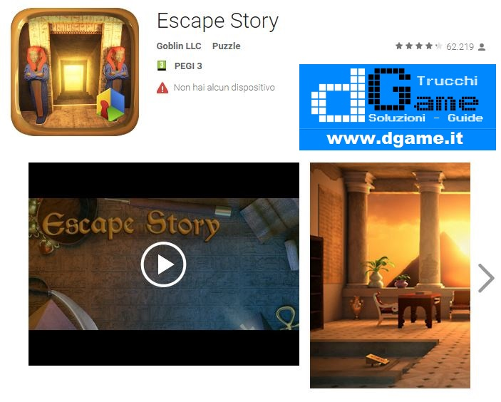 Soluzioni Escape Story di tutti i livelli | Walkthrough guide