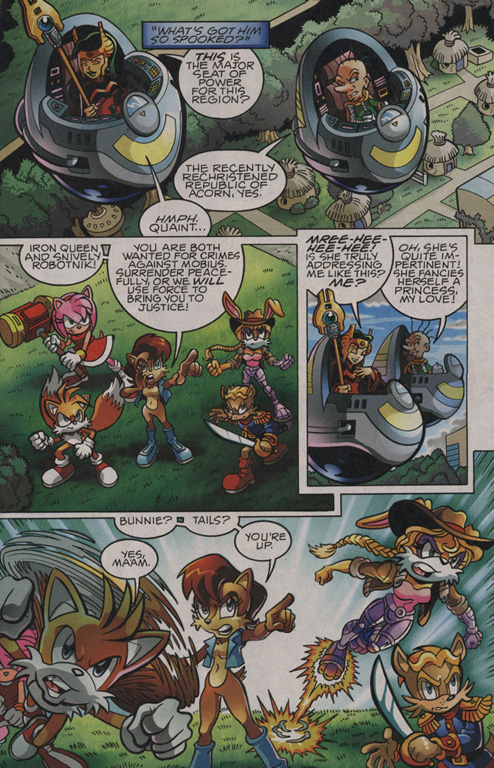 Read online Sonic The Hedgehog comic -  Issue #203 - 8