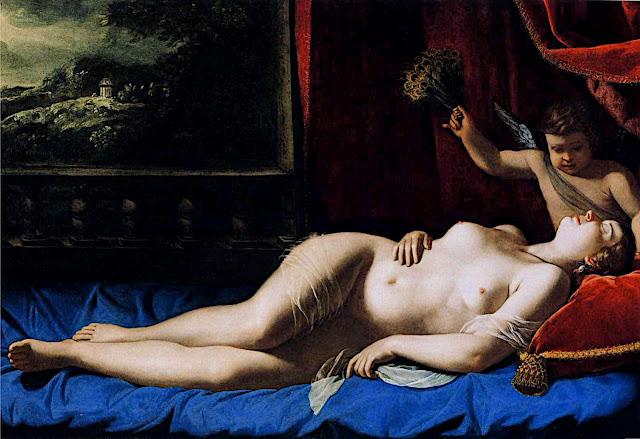 Artemisia Gentileschi: Venere dormiente
