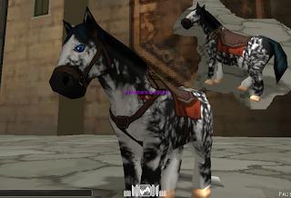 Fury Horse Skin - Attack On Titan Tribute Game